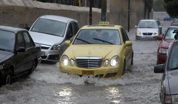 Πλημμύρες Άνω Λιόσια