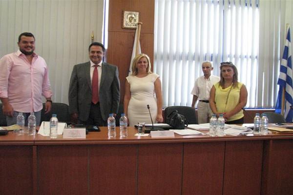 Προεδρείο δημοτικό συμβούλιο Αχαρνές