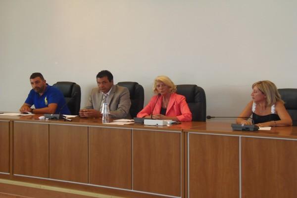 Προεδρείο δημοτικού συμβουλίου Φυλής