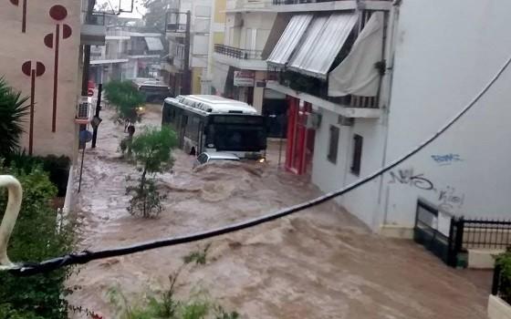 Αχαρνές,πλημμύρες Αχαρνές