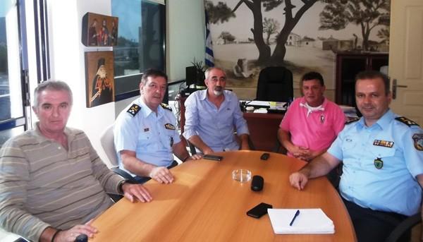 επίσκεψη, υπαρχηγός ελληνικής αστυνομίας, δήμος Φυλής, Άνω Λιόσια, παραβατικότητα