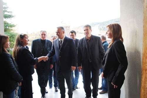 Μανόλης Κεφαλογιάννης, επίσκεψη, Φυλή, δήμος Φυλής, ευρωβουλευτής ΝΔ