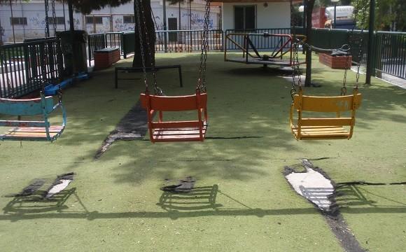παιδικές χαρές δήμου Αχαρνών,παιδικές χαρές