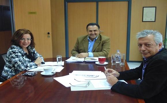 Ευρωβουλευτής Μαρία Σπυράκη,Αχαρνές, Γιάννης Κασσαβός