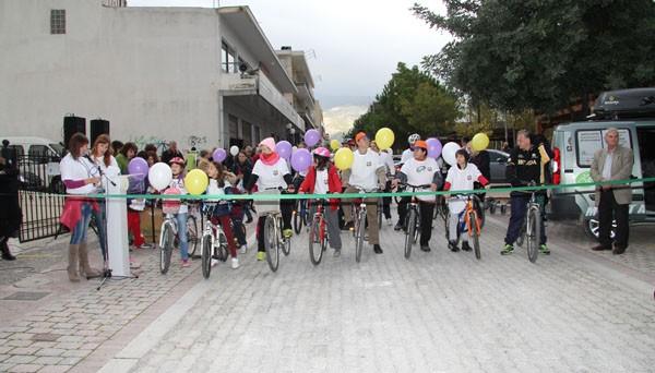 ποδηλατάδα, συμβουλευτικό κέντρο υποστήριξης γυναικών θυμάτων βίας, Άνω Λιόσια, δήμος Φυλής, παγκόσμια ημέρα κατά της βίας, γυναικών, εκδήλωση, δημοτικό ωδείο Φυλής