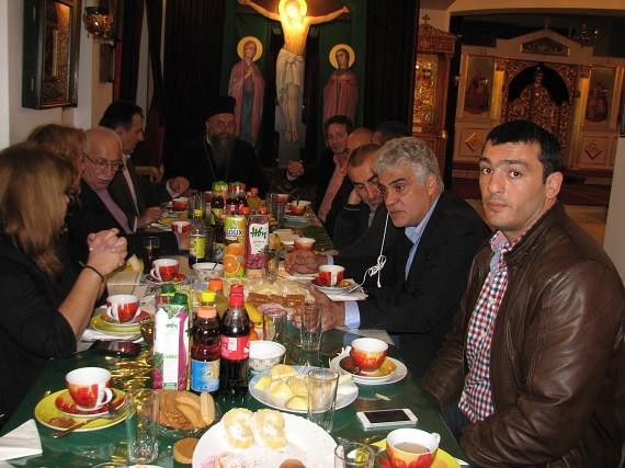 Παναγία Σουμελά Αχαρνών εκδήλωση δημάρχου Αχαρνών