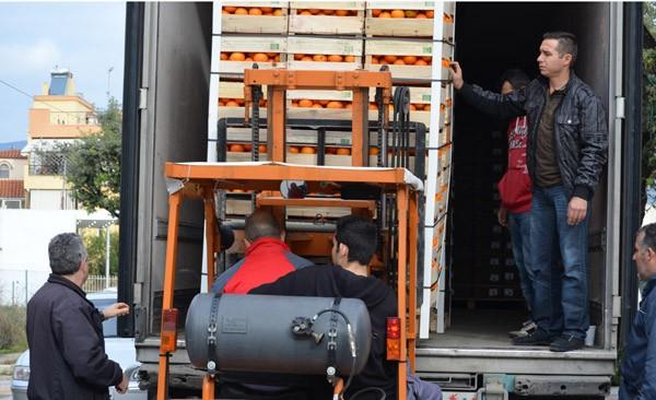 διανομή, 24 τόνοι, πορτοκάλια, σύλλογος τριτέκνων Φυλής, τρίτεκνοι