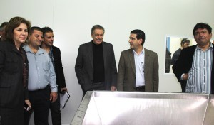 Πάρις Κουκουλόπουλος, Εύη Χριστοφιλοπούλου, αγρότες, πτηνοτρόφοι, Μέγαρα, επίσκεψη