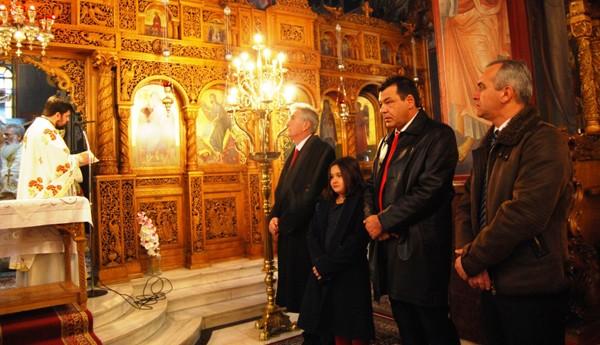 δοξολογία, πρωτοχρονιά, ναός, Αγίων Κωνσταντίνου και Ελένης, Άνω Λιόσια