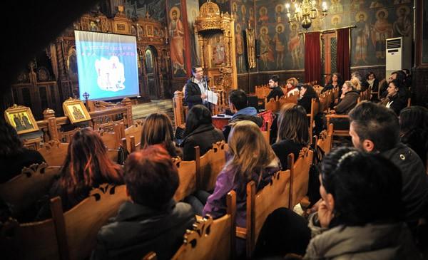 σχολή γονέων, ιερός ναός Αγίων Κωνσταντίνου και Ελένης, εκκλησία, Άνω Λιόσια