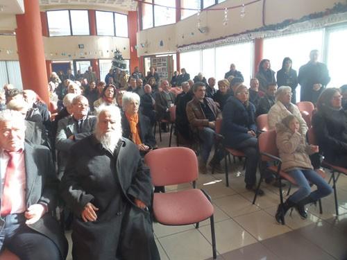κοπή πίτας, δημοτική κοινότητα Ζεφυρίου, πνευματικό κέντρο, Γιάννης Μαυροειδάκος, αντιδήμαρχος