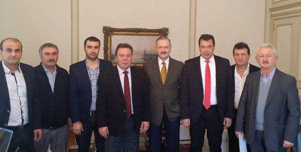 συνάντηση, Δημήτρης Σταμάτης, συντάξεις Ελλήνων Πόντου, Μέγαρο Μαξίμου, δήμαρχοι Φυλής, Ασπροπύργου