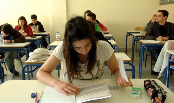 εξετάσεις, μαθητές
