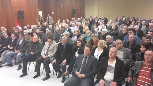 Γιώργος Βλάχος, βουλευτής, ΝΔ, Περιφέρεια Αττικής, Αχαρνές, συγκέντρωση