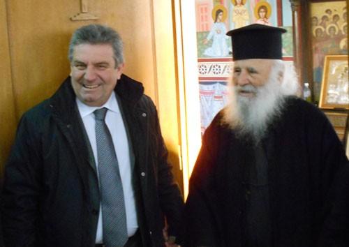 ορφανοτροφείο, Αγία Τριάδα, δήμαρχος Ιλίου, επίσκεψη, Νίκος Ζενέτος