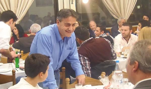 ΚΕΔΗΦ, κοινωφελης επιχείρηση δήμου Φυλής, κοπή πίτας, Γκίκας Χειλαδάκης, πρόεδρος
