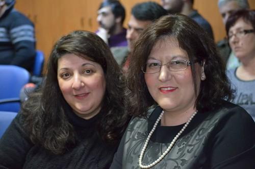 Γεωργία Γούλα, Κατερίνα Δελαπόρτα από την Πρωτοβουλία Αλληλεγγύης Πολιτών Φυλής