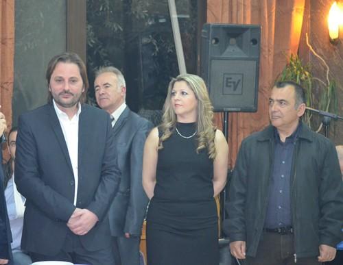 κοπή πίτας, ηπειρώτικο γλέντι, σύλλογος Ηπειρωτών Άνω Λιοσίων, ηπειρώτικο αντάμωμα, πρόεδρος, Χρήστος Ρούσσας