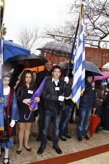 25η Μαρτίου, εορτασμός, εθνική επέτειος, δήμος Φυλής, παρέλαση, αναβολή, ματαίωση, βροχόπτωση
