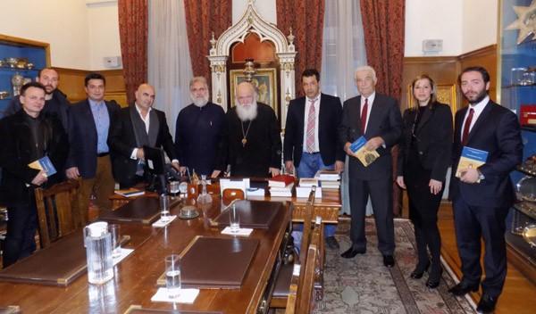Αρχιεπίσκοπος Αθηνών, συνάντηση, δήμαρχος Φυλής, λιτάνευση εικόνας, Μονή Κλειστών, συνάντηση