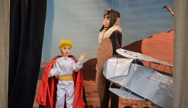 παράσταση, μαριονέτες, ο μικρός Πρίγκιπας, σύλλογος τριτέκνων, Φυλής, δήμος Φυλής
