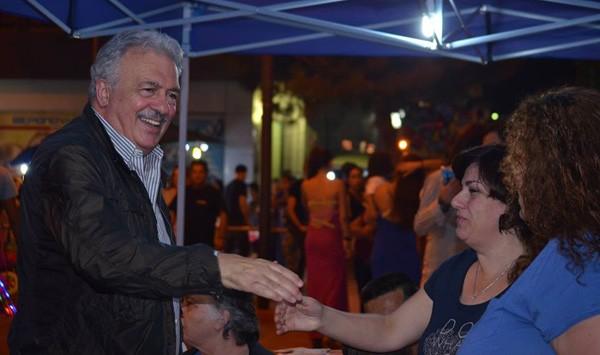 Δημήτρης Μπουραίμης, πρώην δήμαρχος Φυλής, πολιτιστικές εκδηλώσεις, Μάιος 2015, Άνω Λιόσια, πανηγύρι, πολιτιστικοί σύλλογοι, δήμος Φυλής