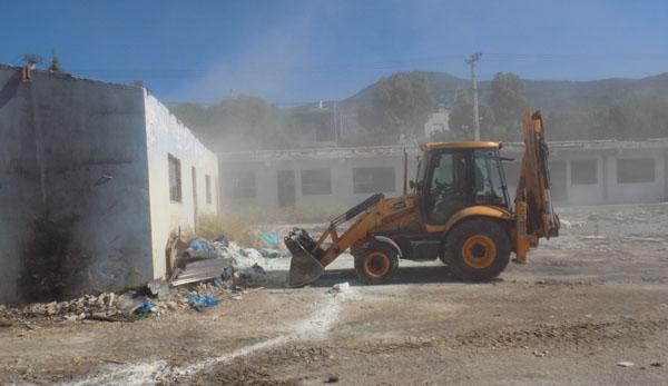 επιχείρηση, καθαριότητας, Πανόραμα, Άνω Λιόσια, πρώην 2ο λύκειο, δήμος Φυλής