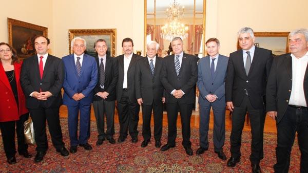 συνάντηση, δήμαρχοι, ΚΕΔΕ, πρόεδρος δημοκρατίας, Προκόπης Παυλόπουλος