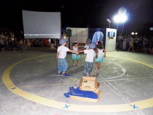 καλοκαιρινή γιορτή, 1ος παιδικός σταθμός, Ζεφύρι, δήμος Φυλής