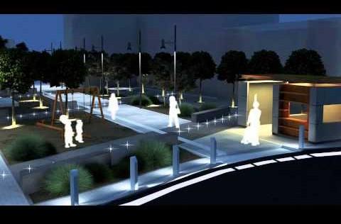 ανάπλαση κεντρικής πλατείας Αχαρνών