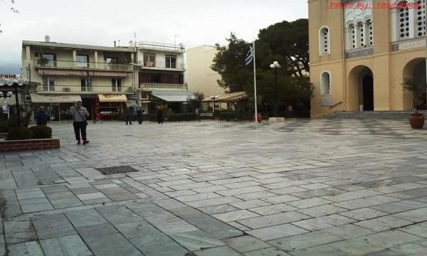 Κεντρική πλατεία Αχαρνών