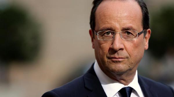 Φρανσουά Ολάντ, γάλλος πρόεδρος