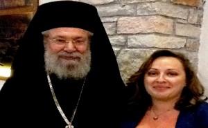 Αρχιεπίσκοπος Κύπρου_Ευρώπη Κοσμίδη