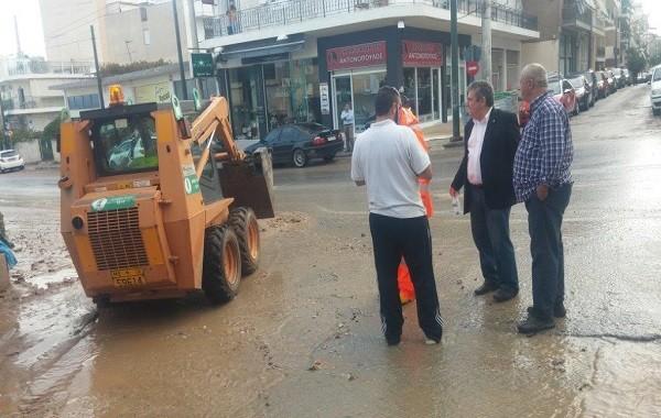 Πλημμύρες Ιλιον