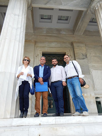 Ένωση Γονέων, Άνω Λιοσίων, Βουλή, συνάντηση, βουλευτές, ΣΥΡΙΖΑ, παιδεία, ελλείψεις δασκάλων
