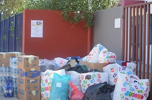 λύκειο Ζεφυρίου, βοήθεια, πρόσφυγες, μαθητές, ολυμπιακό κέντρο Γαλατσίου, δήμος Φυλής, Ζεφύρι