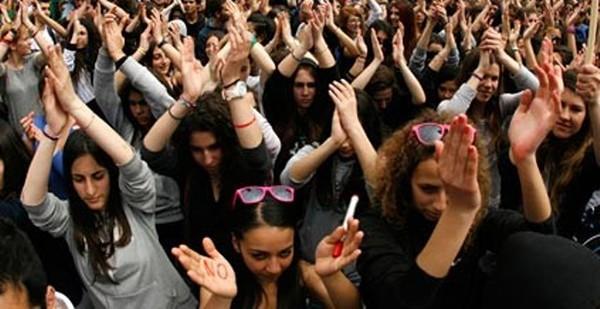 μαθητικά συλλαλητήρια, Αθήνα, ΟΛΜΕ, στάση εργασίας
