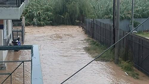 πλημμύρες, Ζεφύρι, προβλήματα, δήμος Φυλής, Λίμνη