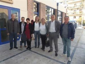 Τα μέλη της τοπικής της ΝΔ στις Αχαρνές