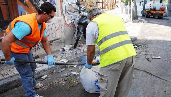 εργαζόμενοι, καθαριότητα, δήμοι, δημόσιο