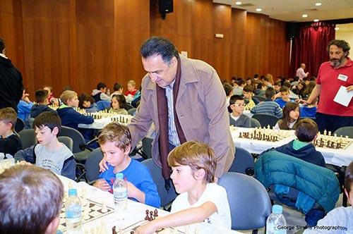 2ο, ατομικό, σχολικό, πρωτάθλημα σκάκι, δήμος Αχαρνών, ΕΟΣ Αχαρνών, μαθητές, σχολεία, δημαρχείο Αχαρνών