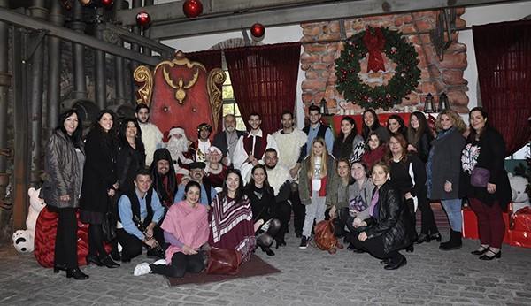 σύλλογος Θεσσαλών Φυλής, παραδοσιακό, έθιμο, Θεσσαλίας, τα Ρουγκάτσια, παρουσίας, τεχνόπολις, γκάζι, Christmas Factory