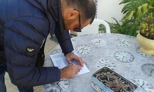 σύλλογος Ποντίων Φυλής, τρόφιμα, άπορες οικογένειες, πρόεδρος, Ιωάννης Ευθυμιάδης