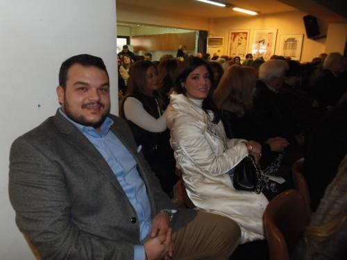 Μιχάλης Βρεττός και Μαρία Κατσιγιάννη