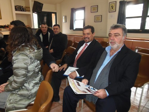 Παναγιώτης Κοσμίδης_Σωτήρης Κουφογεώργος και Δημήτρης Καλατζής