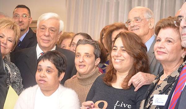 4η κατοικία υποστηριζόμενης διαβίωσης, Εργαστήρι, Λίλιαν Βουδούρη. εγκαίνια, πρόεδρος της Δημοκρατίας, Προκόπης Παυλόπουλος