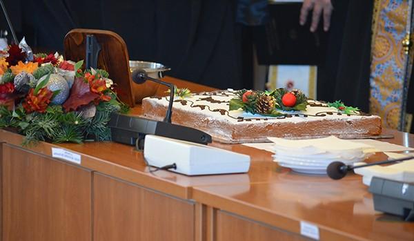 κοπή πίτας, δήμος Φυλής, δημαρχείο, δήμαρχος Φυλής, Χρήστος Παππούς