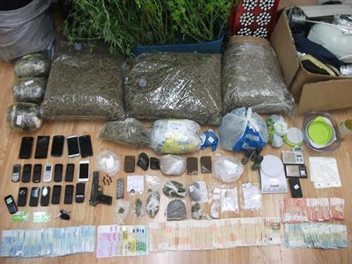 κύκλωμα ναρκωτικών, Αλβανία, 'Ιλιον, εξαρθρώθηκε