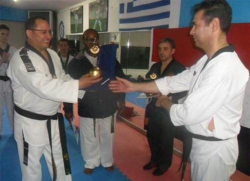 ελληνοαιγυπτιακή, φιλική συνάντηση, taekwondo, Αχαρνές, Gym sport center Vamvakidis