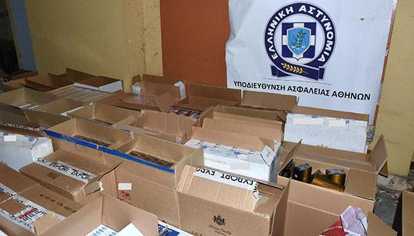 σπείρα, λαθραία τσιγάρα, Ασπρόπυργος, Καζακστάν, υποδιεύθυνση ασφάλειας Αθηνών